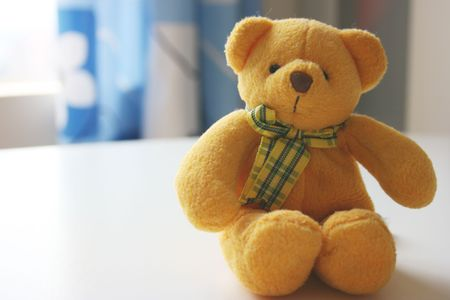 Yellow toy bear