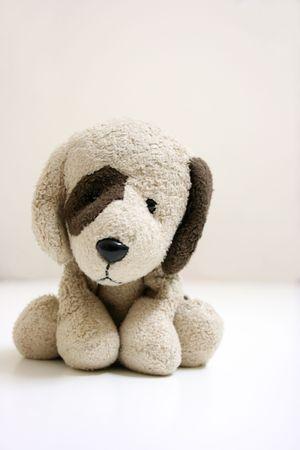Pies nadziewanych zabawka  Zdjęcie Seryjne