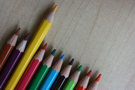 Outshine Ołówek nieparzysta kolor żółty, inni Zdjęcie Seryjne