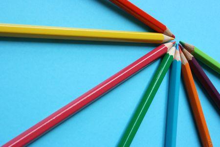 Tworzenie kolorów kredki do reprezentowania jeden ważny cel