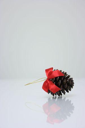 Pine cone,christmas ornament Stock Photo