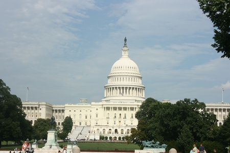 Lipca Washington DC, USA, 22,2010 - Capitol budynku