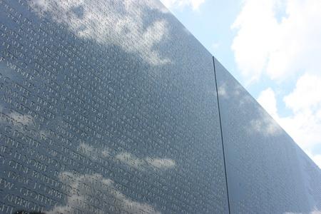Washington DC,USA, July 22,2010 - Vietnam Veterans Memorial, Washington DC