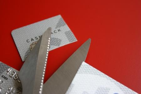 Cut credit card Stock Photo - 8900434