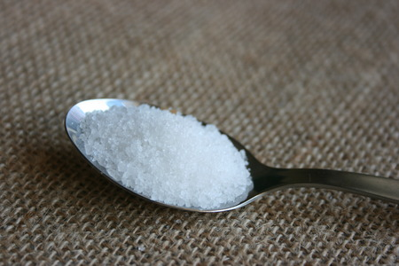 A full tea spoon of salt