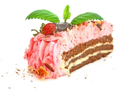 Strawberry cake Stock Photo - 4748131