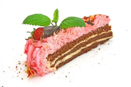 Strawberry cake Stock Photo - 4748146
