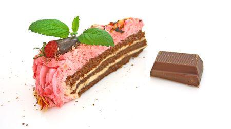 Strawberry cake Stock Photo - 4748152