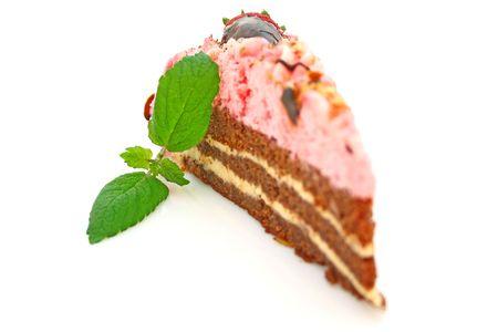 Strawberry cake Stock Photo - 4748109