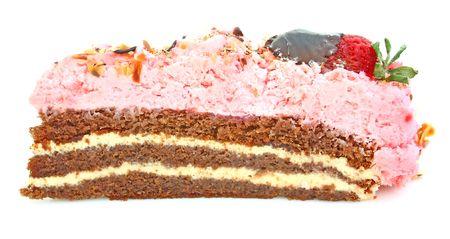 Strawberry cake Stock Photo - 4748150