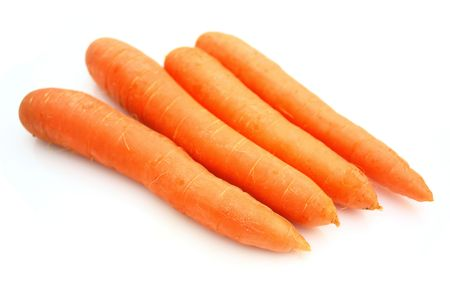 bunch up: Carrots