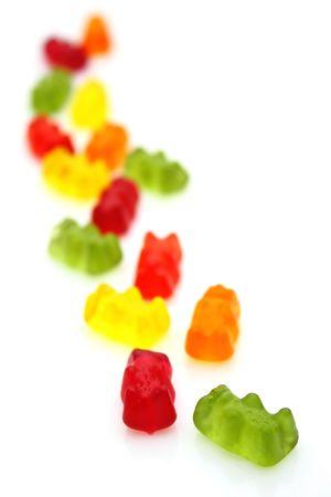 Gummi bears photo