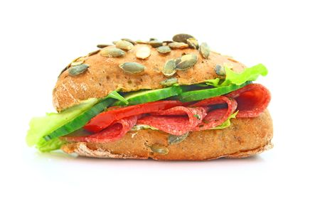 multi grain sandwich: sandwich