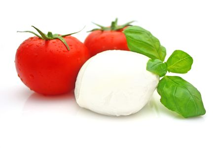 albahaca: Tomate mozzarella