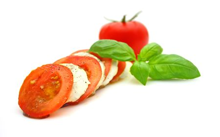 Tomato mozzarella photo