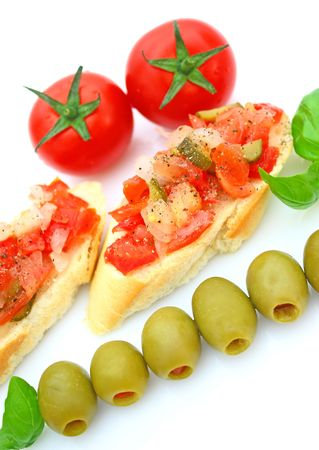 Bruschetta Stock Photo - 5114117