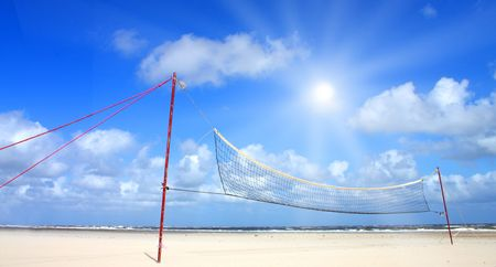 Beautiful beach with sunlight Stock Photo - 5647507