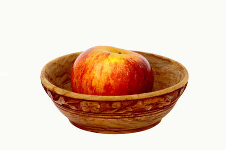 mellow: Bowl with apple