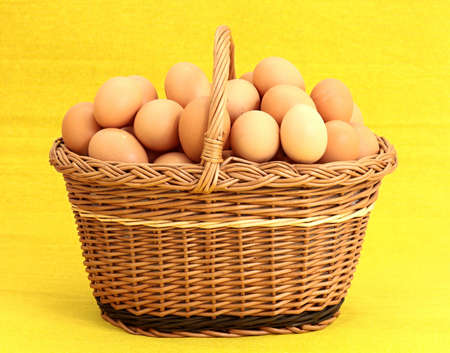 modesty: Eggs in a basket