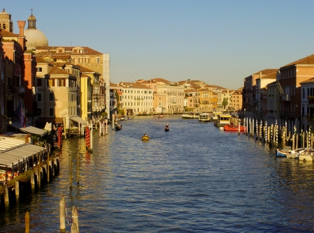 The Grand Canal in Venice, Italy. Stock Photo - 13624981