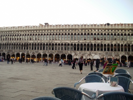 St. Marks Square, also known as Piazza San Marco in Venice, Italy.
