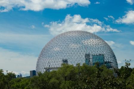 몬트리올, 캐나다에서 일 생트 헬렌에 바이오 돔 에디토리얼