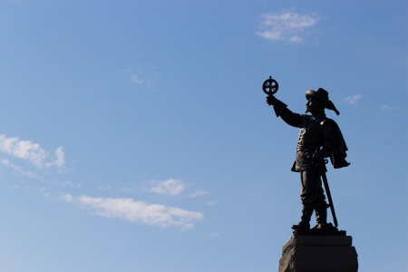 Champlain Statue in Ottawa, Canada Stock Photo - 15865800