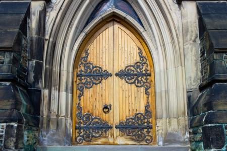 Ornate door