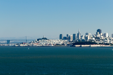 San Francisco Bay and Skyline photo