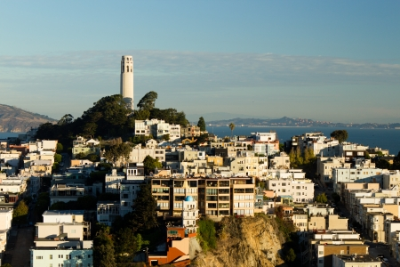 Coit Tower on Telegraph Hill photo