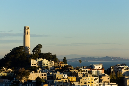coit tower: Coit Tower on Telegraph Hill