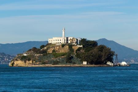 미국 샌프란시스코의 알카트라즈 섬