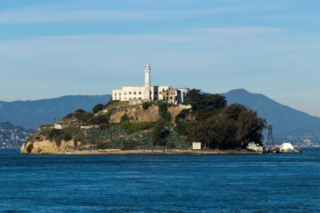Alcatraz Island in San Francisco, USA Stock Photo