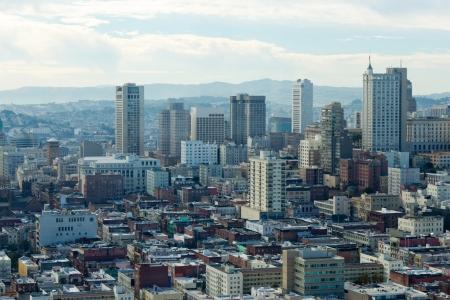 San Francisco Skyline Lizenzfreie Bilder