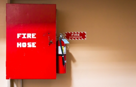 Fire hose safety equipment photo