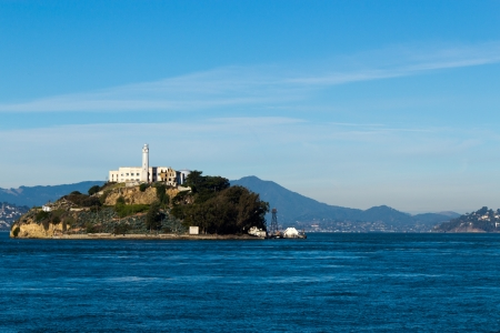 Alcatraz Island in San Francisco, USA Lizenzfreie Bilder