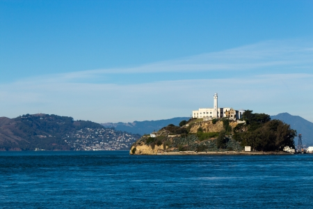 Alcatraz Island in San Francisco, USA Stock Photo - 17057740