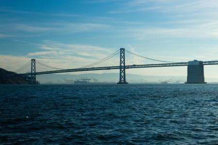 san fran: San Francisco Bay Bridge Stock Photo