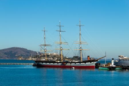 Vintage tall ship