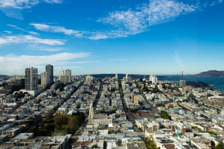 san fran: San Francisco Skyline Stock Photo