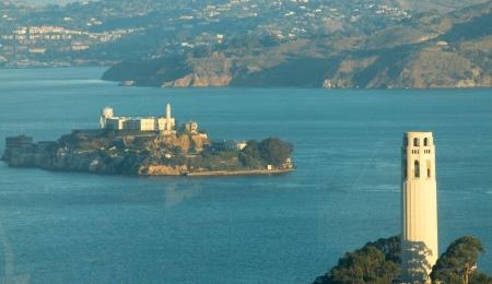 Alcatraz Island in San Francisco, USA Stock Photo - 17055687