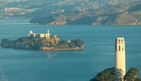 Alcatraz Island in San Francisco, USA Stock Photo - 17055687