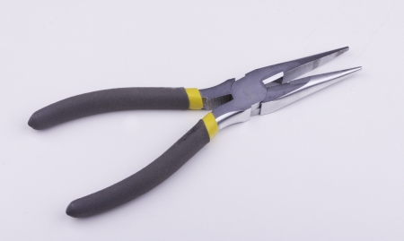 Needle-nose pliers Stock Photo - 17625950
