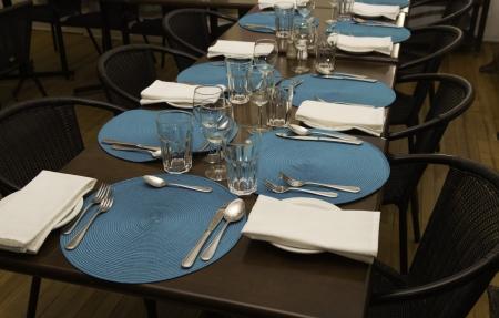 Restaurant dining room Stok Fotoğraf