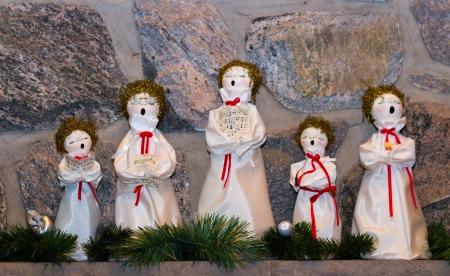 Weihnachten Puppen singen Weihnachtslieder