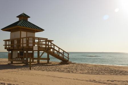 써니 아일 즈 비치, 플로리다의 기병 오두막