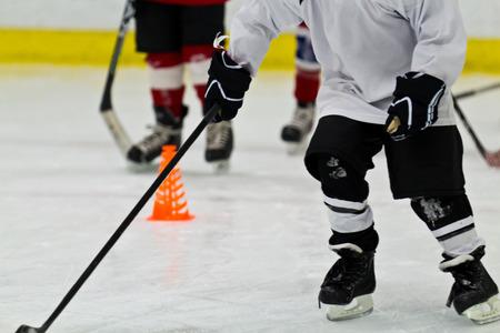 Eishockey Praxis f�r Kinder