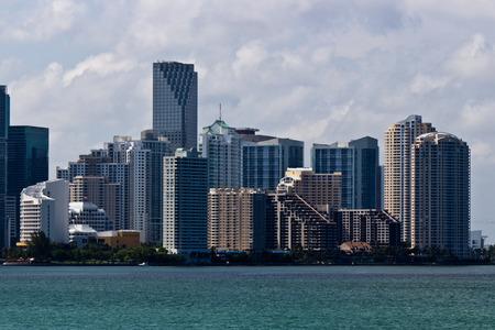Miami skyline on a sunny day