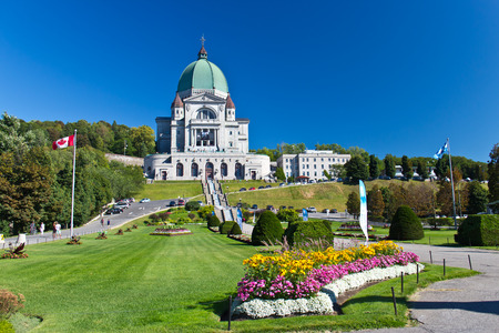 The Saint Joseph Oratory in Montreal, Canada is a National Historic Site of Canada