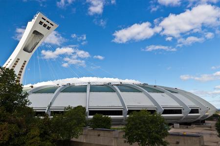 olympic stadium: The Olympic Stadium in Monreal, Canada Editorial